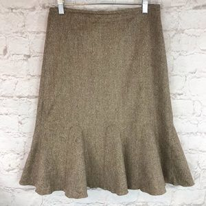 Ann Taylor tulip wool skirt.